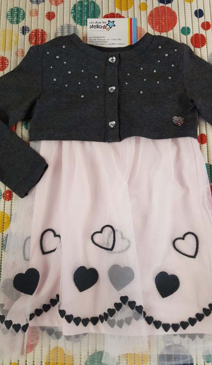 Abbigliamento bambina 2 3 anni - CS419 - Un Due Tre Stella di A. Salogni 4c05384e248